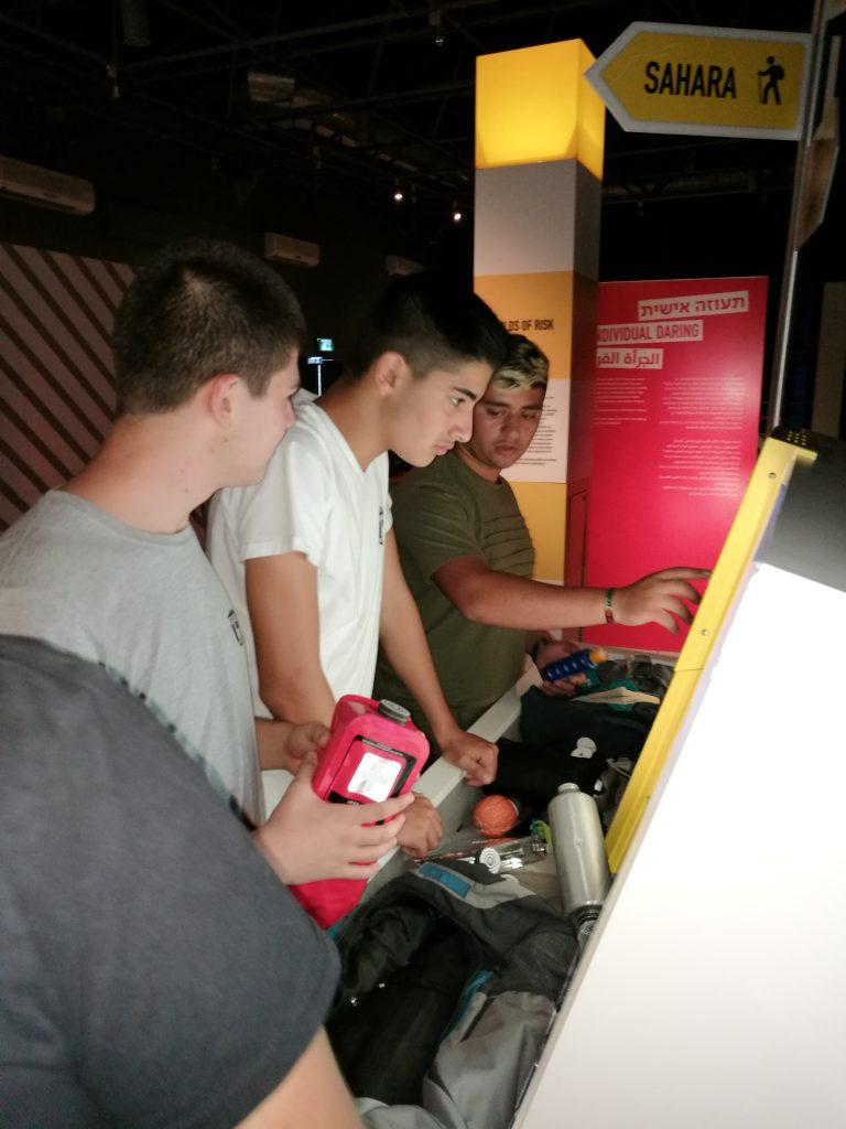 ביקור בתערוכה קאפצ'ה במוזיאון המדע בירושלים. מגמת מדעי המחשב שכבה יא